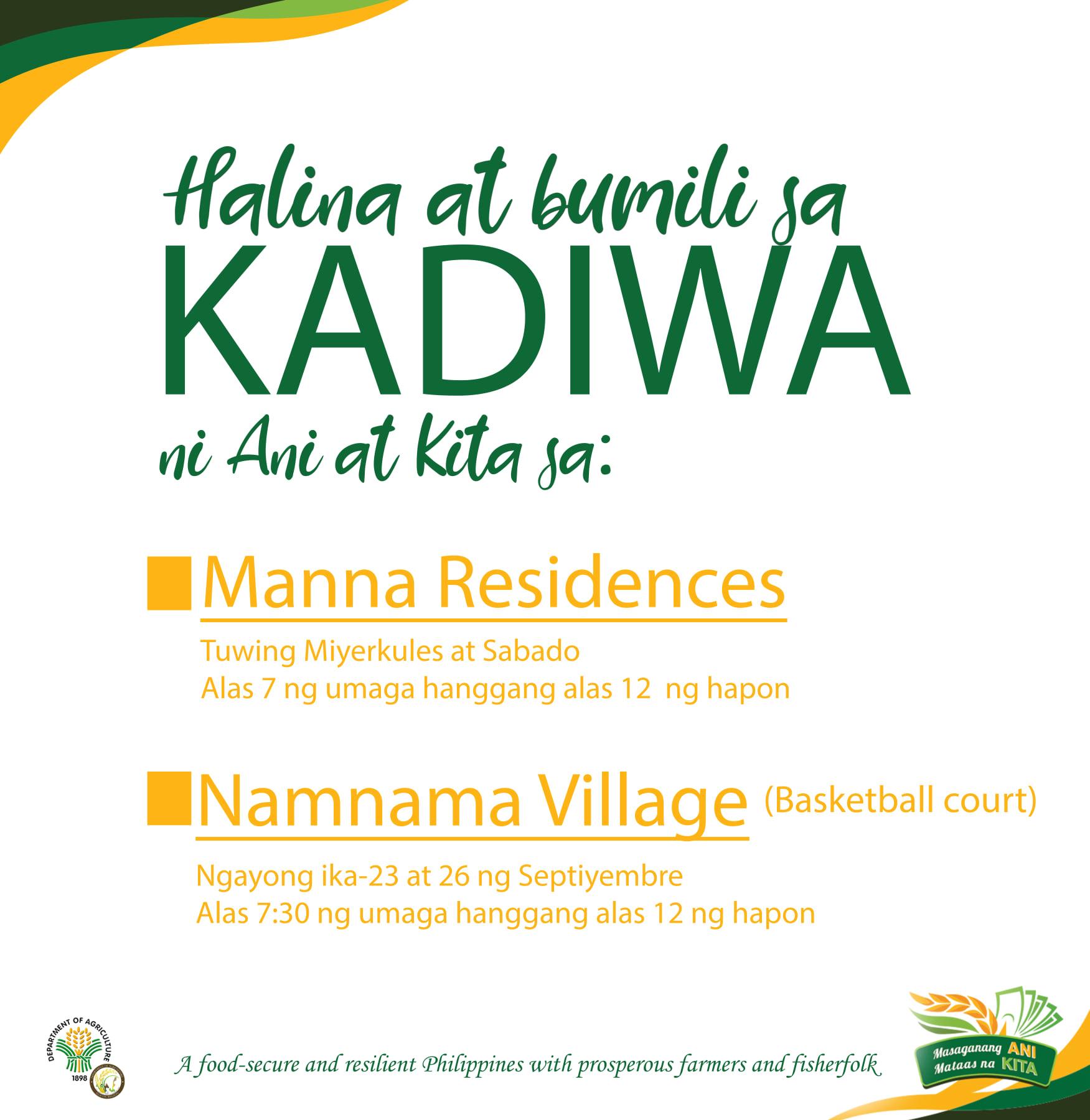 KADIWA ni Ani at Kita Update