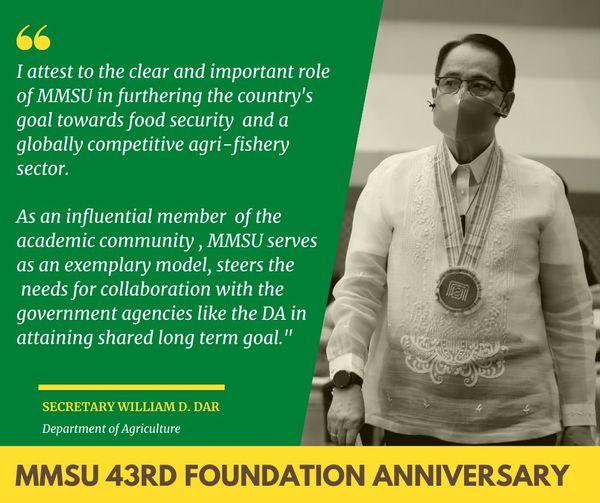 MMSU 43rd Foundation Anniversary
