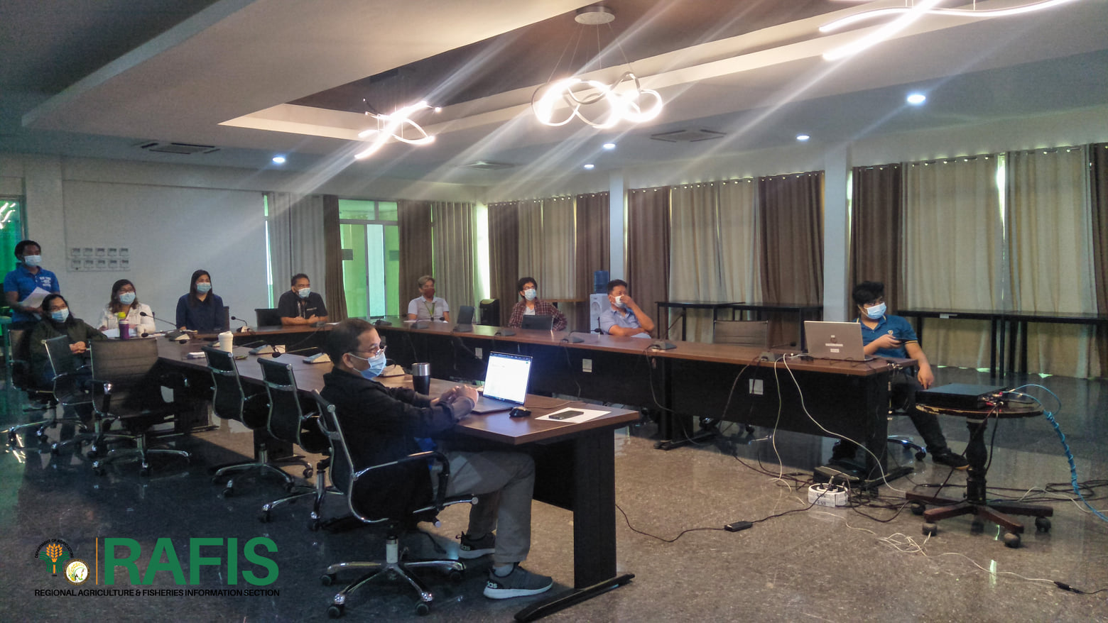 NICA Region 1 Orients on CTG Situation in the Country
